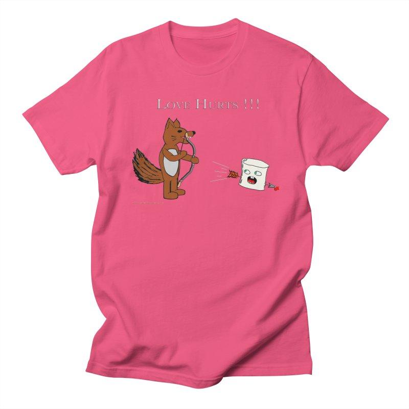 Love Hurts!!! Men's Regular T-Shirt by Every Drop's An Idea's Artist Shop