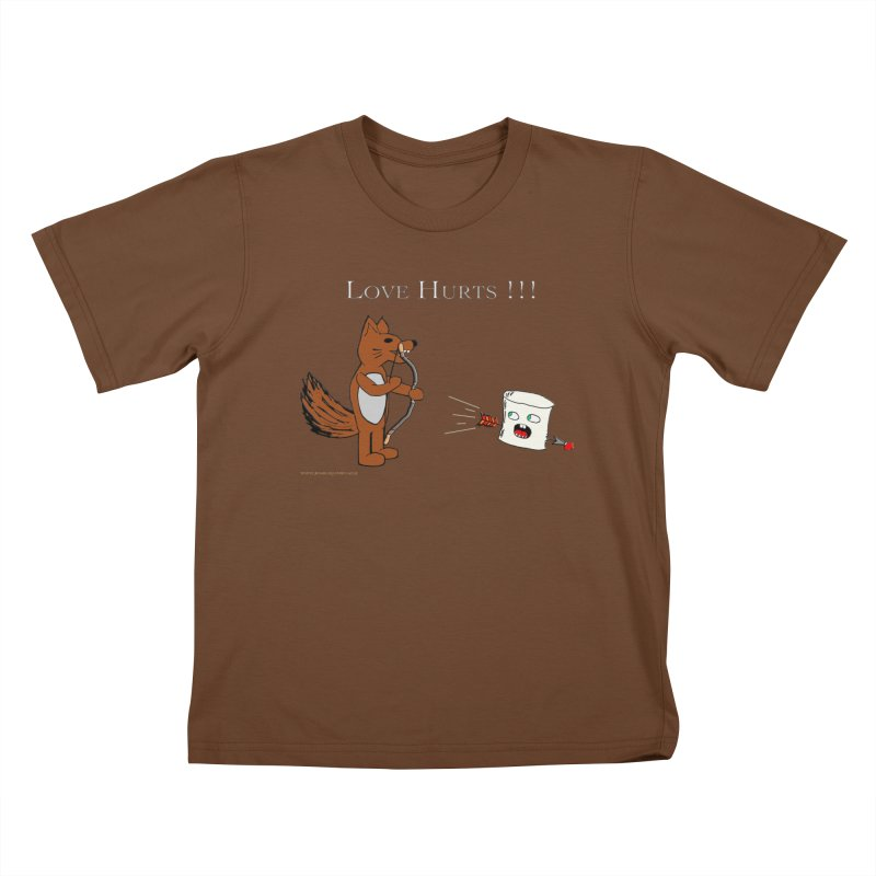 Love Hurts!!! Kids T-Shirt by Every Drop's An Idea's Artist Shop