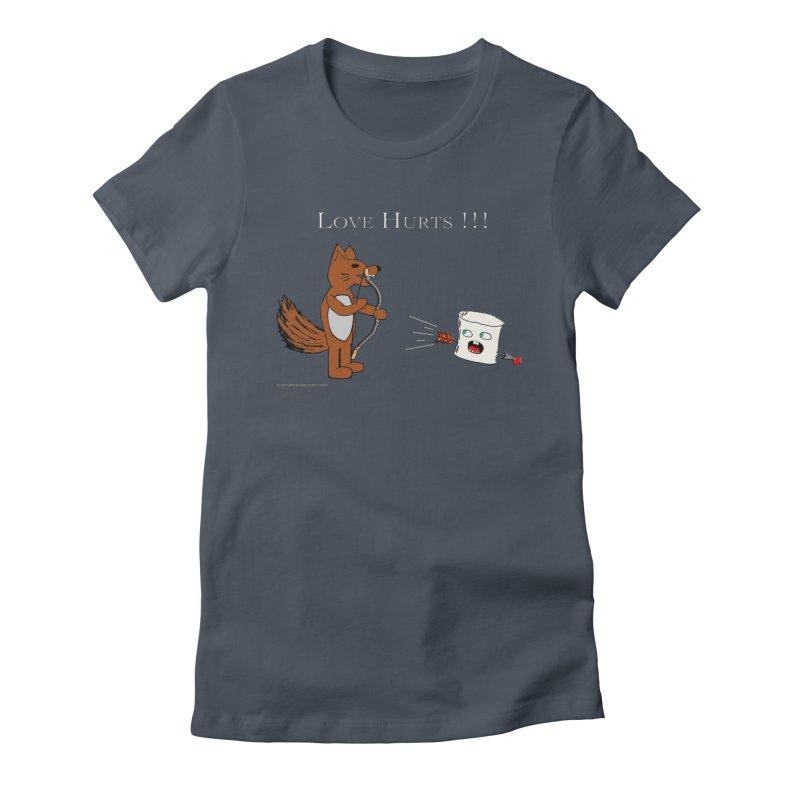 Love Hurts!!! Women's T-Shirt by Every Drop's An Idea's Artist Shop