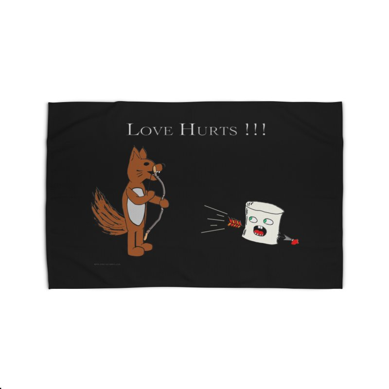Love Hurts!!! Home Rug by Every Drop's An Idea's Artist Shop