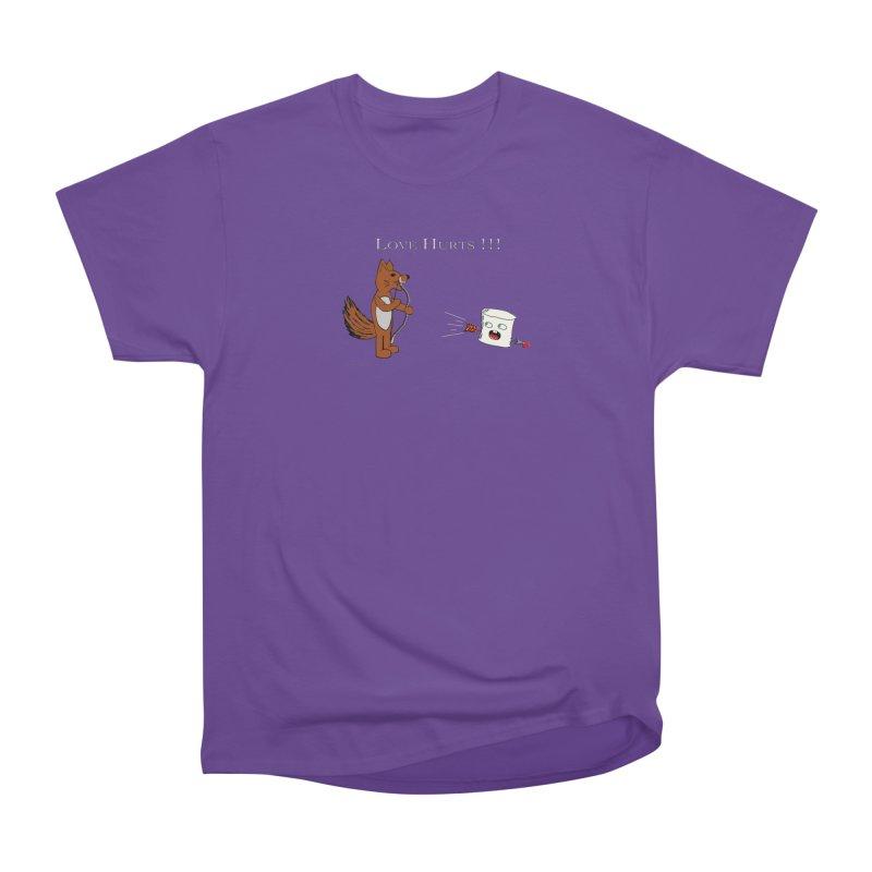 Love Hurts!!! Women's Classic Unisex T-Shirt by Every Drop's An Idea's Artist Shop