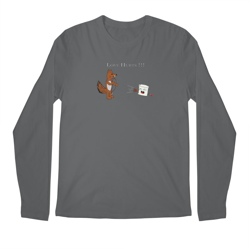 Love Hurts!!! Men's Longsleeve T-Shirt by Every Drop's An Idea's Artist Shop