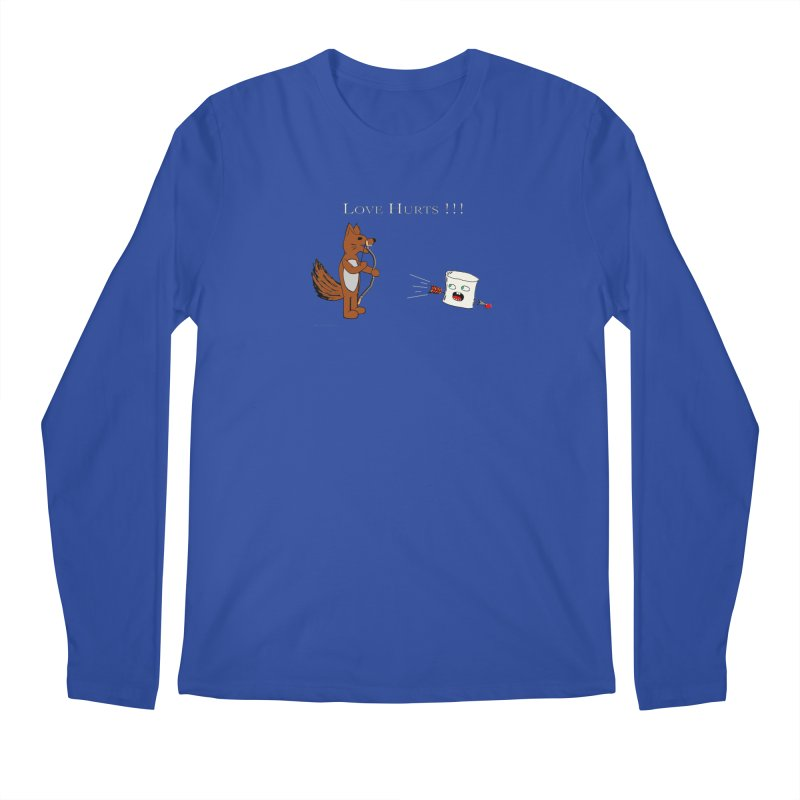 Love Hurts!!! Men's Longsleeve T-Shirt by Every Drop's An Idea's Artist Shop
