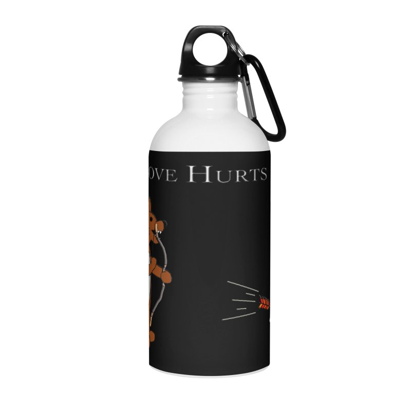 Love Hurts!!! Accessories Water Bottle by Every Drop's An Idea's Artist Shop