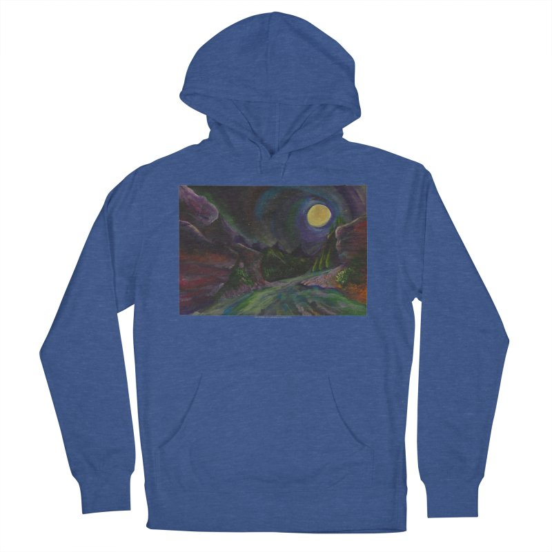 Into the Night Women's Pullover Hoody by Every Drop's An Idea's Artist Shop