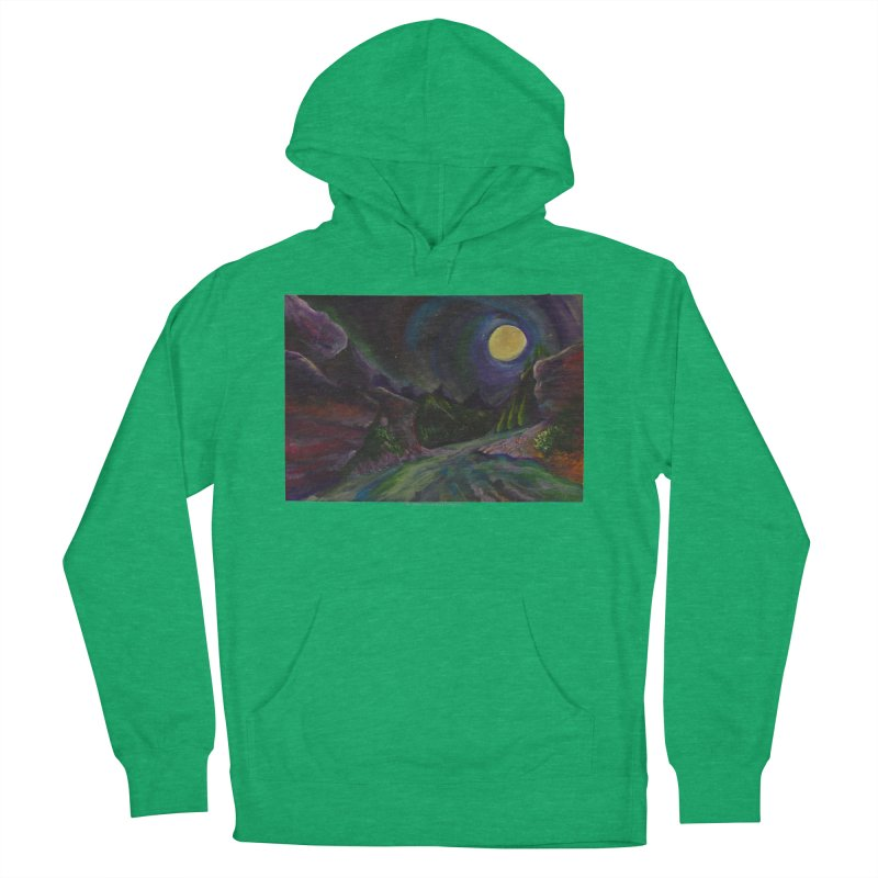 Into the Night Men's Pullover Hoody by Every Drop's An Idea's Artist Shop