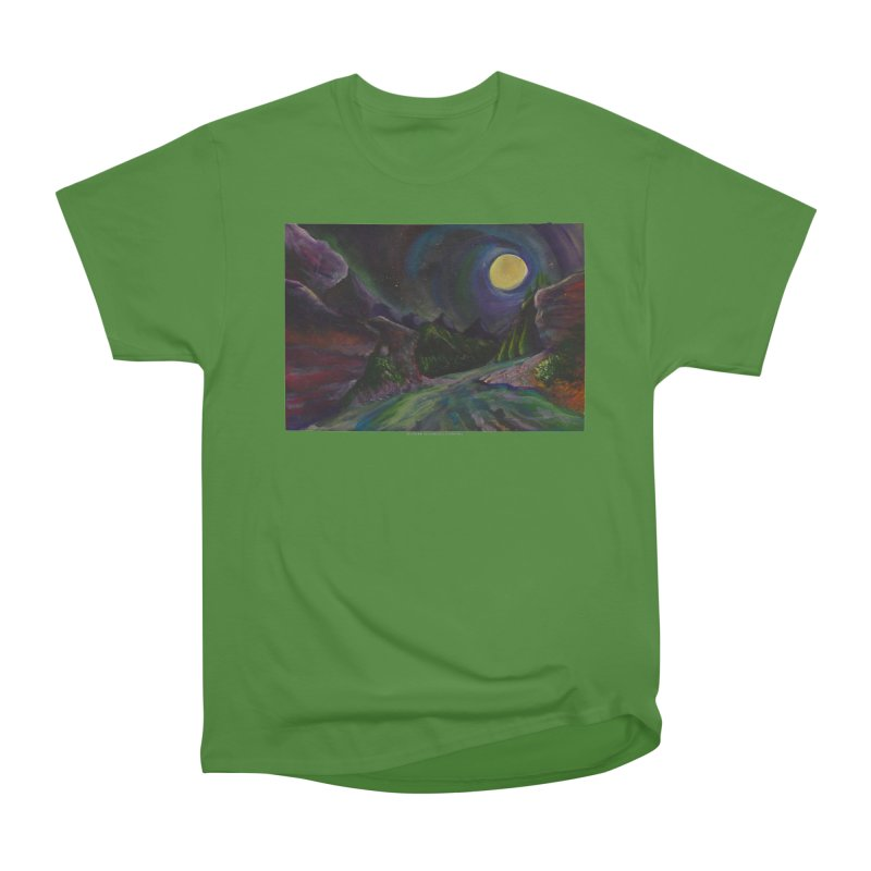 Into the Night Women's Classic Unisex T-Shirt by Every Drop's An Idea's Artist Shop
