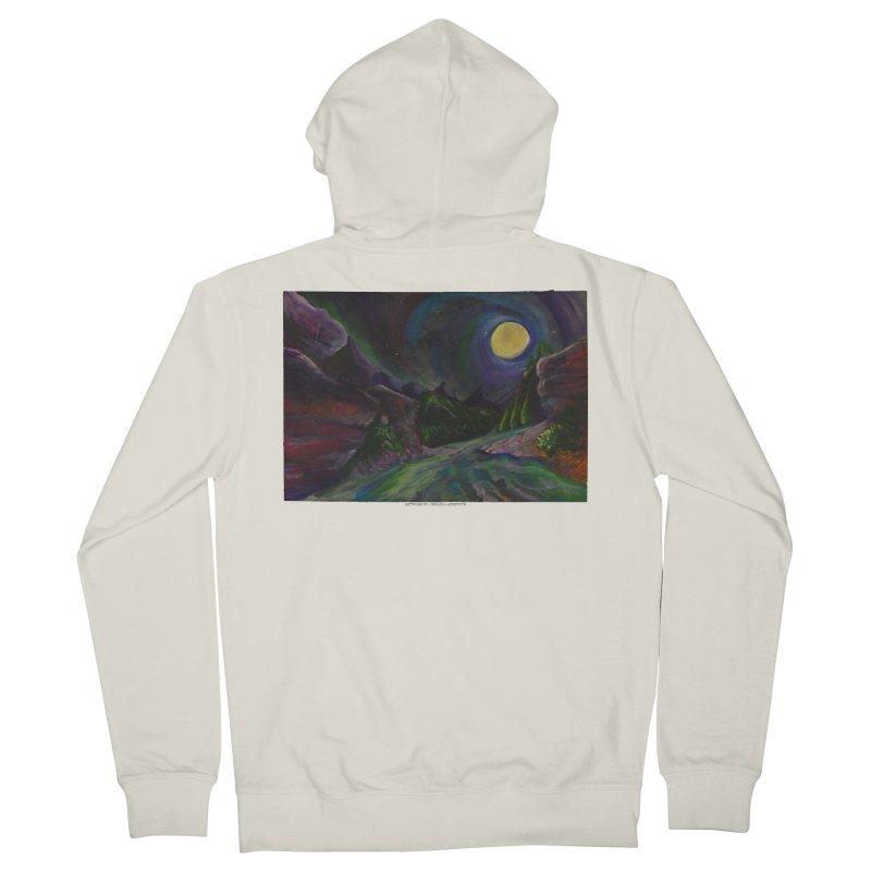 Into the Night Women's Zip-Up Hoody by Every Drop's An Idea's Artist Shop