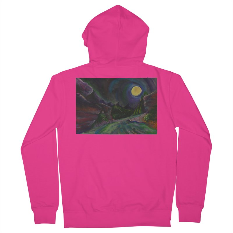 Into the Night Men's Zip-Up Hoody by Every Drop's An Idea's Artist Shop