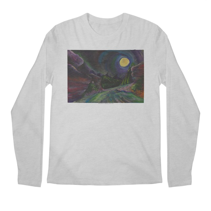 Into the Night Men's Longsleeve T-Shirt by Every Drop's An Idea's Artist Shop