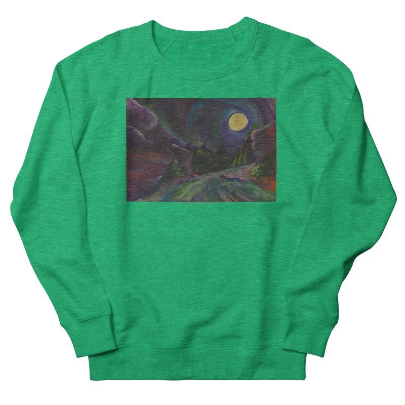 Into the Night Women's Sweatshirt by Every Drop's An Idea's Artist Shop