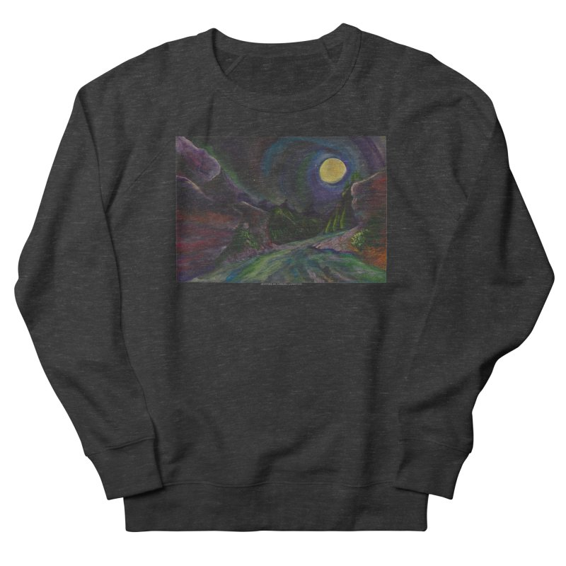 Into the Night Men's Sweatshirt by Every Drop's An Idea's Artist Shop