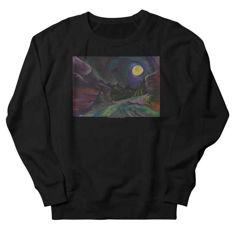 Into the Night Men's Sweatshirt by Every Drop's An Idea's Artist Shop