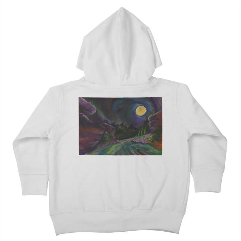 Into the Night Kids Toddler Zip-Up Hoody by Every Drop's An Idea's Artist Shop