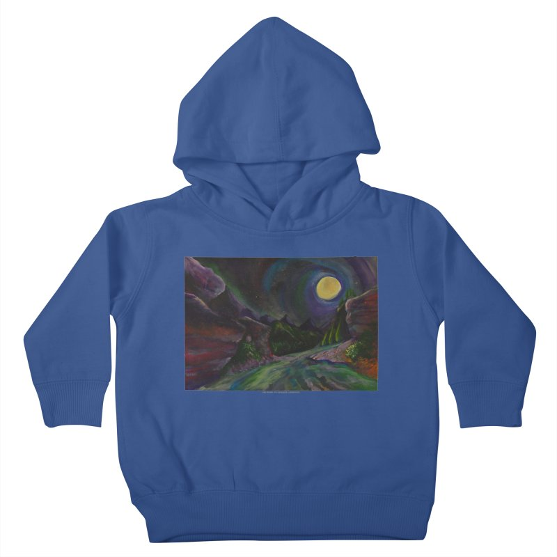 Into the Night Kids Toddler Pullover Hoody by Every Drop's An Idea's Artist Shop