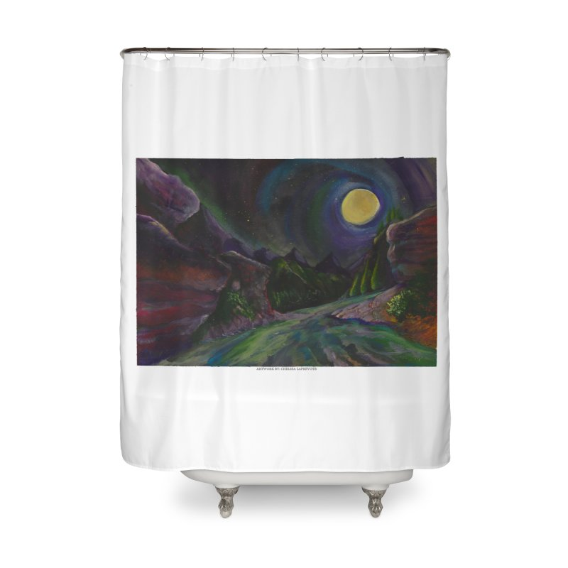Into the Night Home Shower Curtain by Every Drop's An Idea's Artist Shop