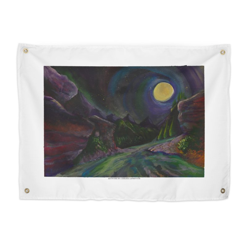 Into the Night Home Tapestry by Every Drop's An Idea's Artist Shop