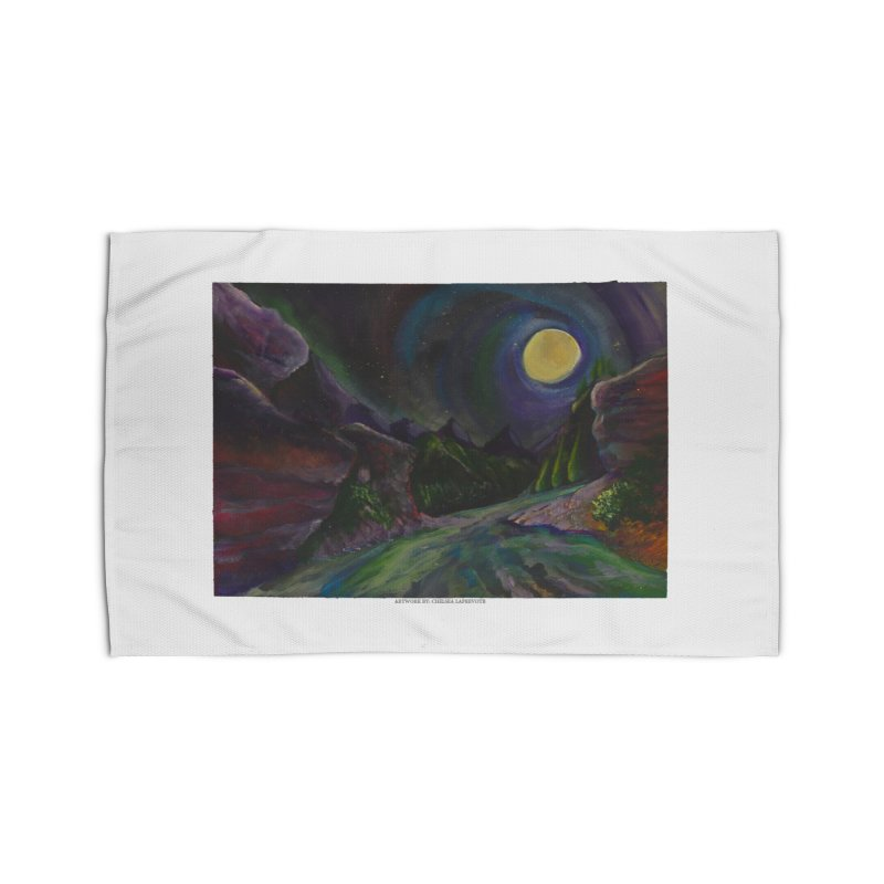 Into the Night Home Rug by Every Drop's An Idea's Artist Shop