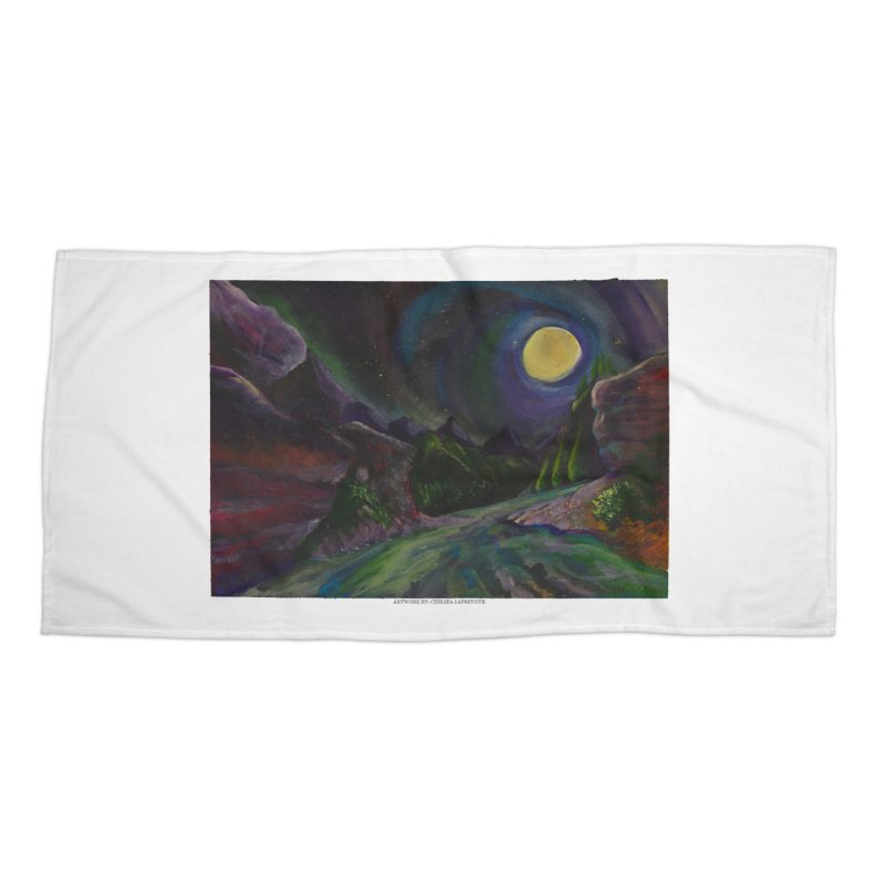 Into the Night Accessories Beach Towel by Every Drop's An Idea's Artist Shop