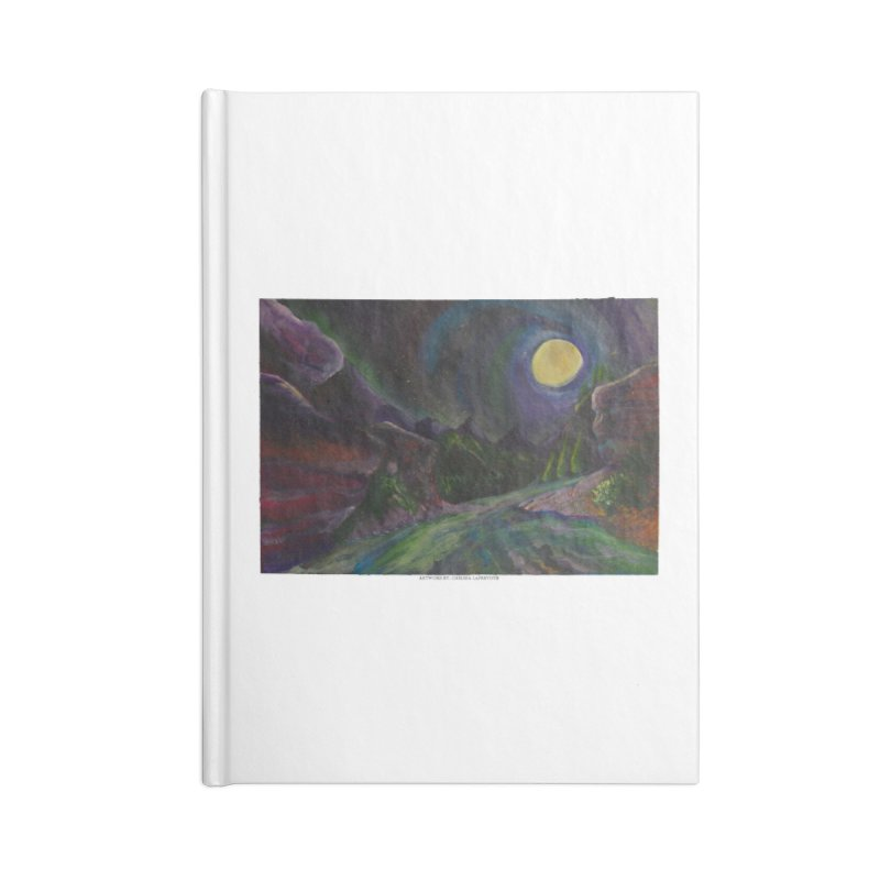 Into the Night Accessories Notebook by Every Drop's An Idea's Artist Shop
