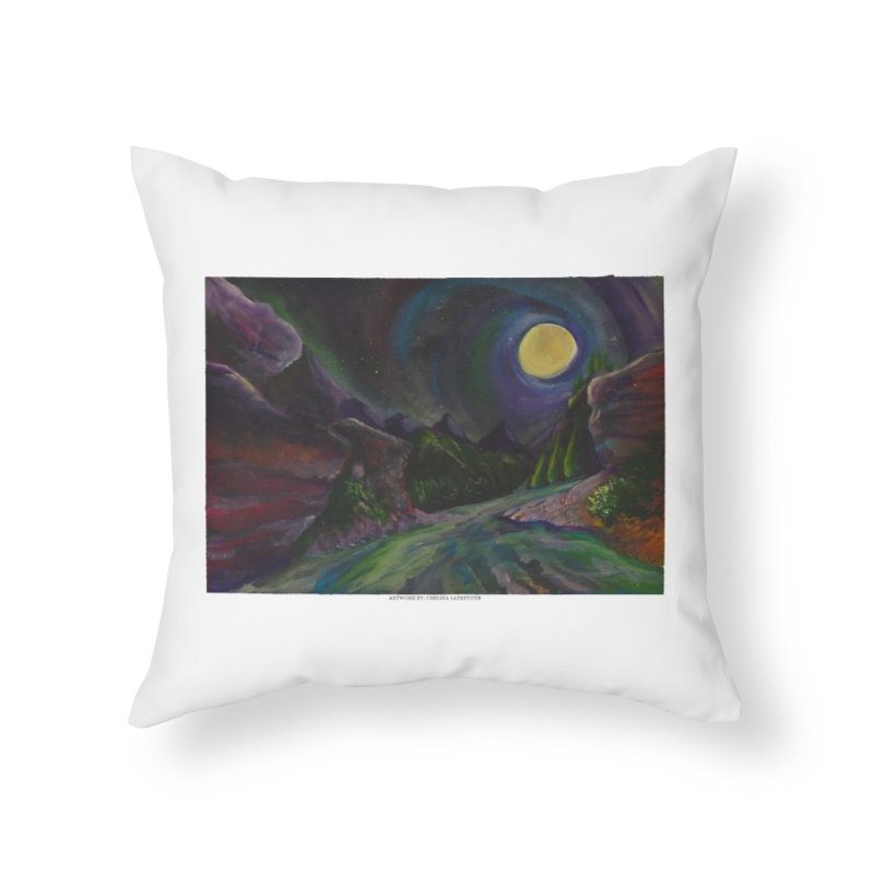 Into the Night Home Throw Pillow by Every Drop's An Idea's Artist Shop