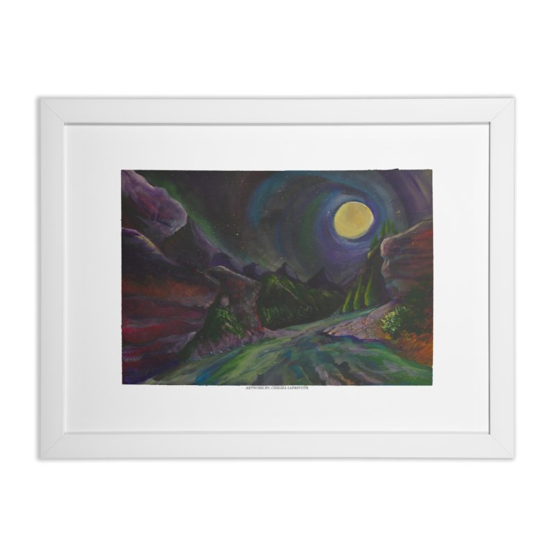 Into the Night in Framed Fine Art Print White by Every Drop's An Idea's Artist Shop