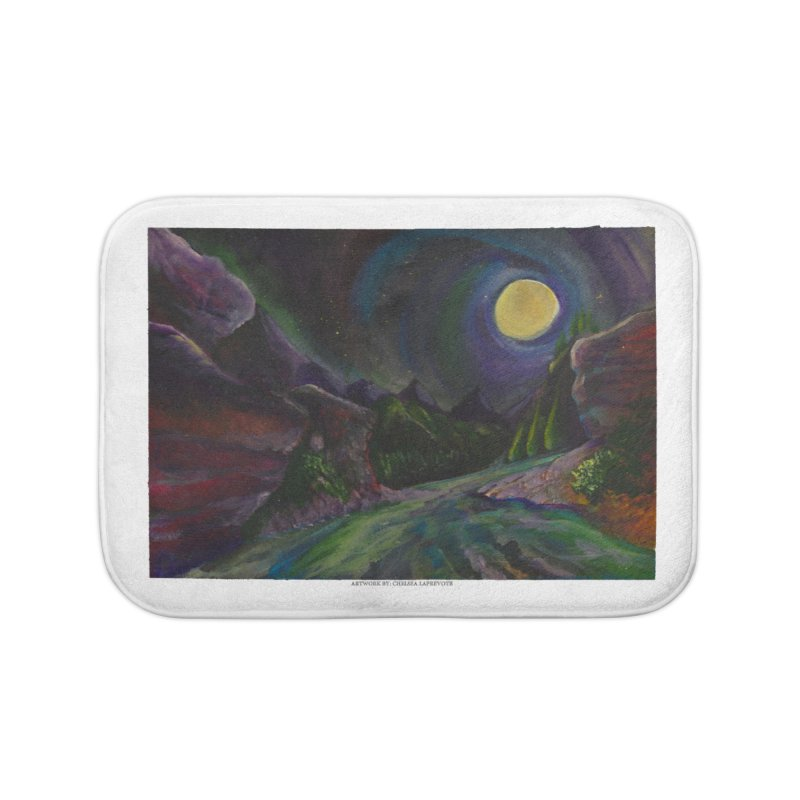 Into the Night Home Bath Mat by Every Drop's An Idea's Artist Shop