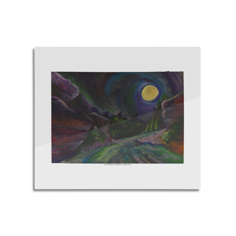Into the Night Home Mounted Acrylic Print by Every Drop's An Idea's Artist Shop