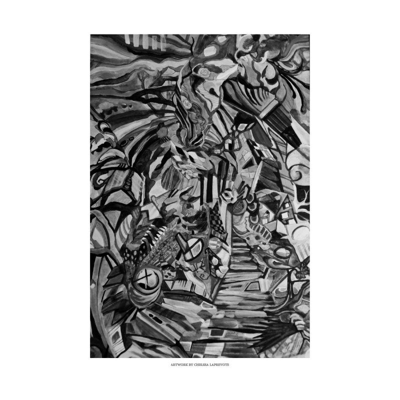 Claustrophobia (B&W) by Every Drop's An Idea's Artist Shop