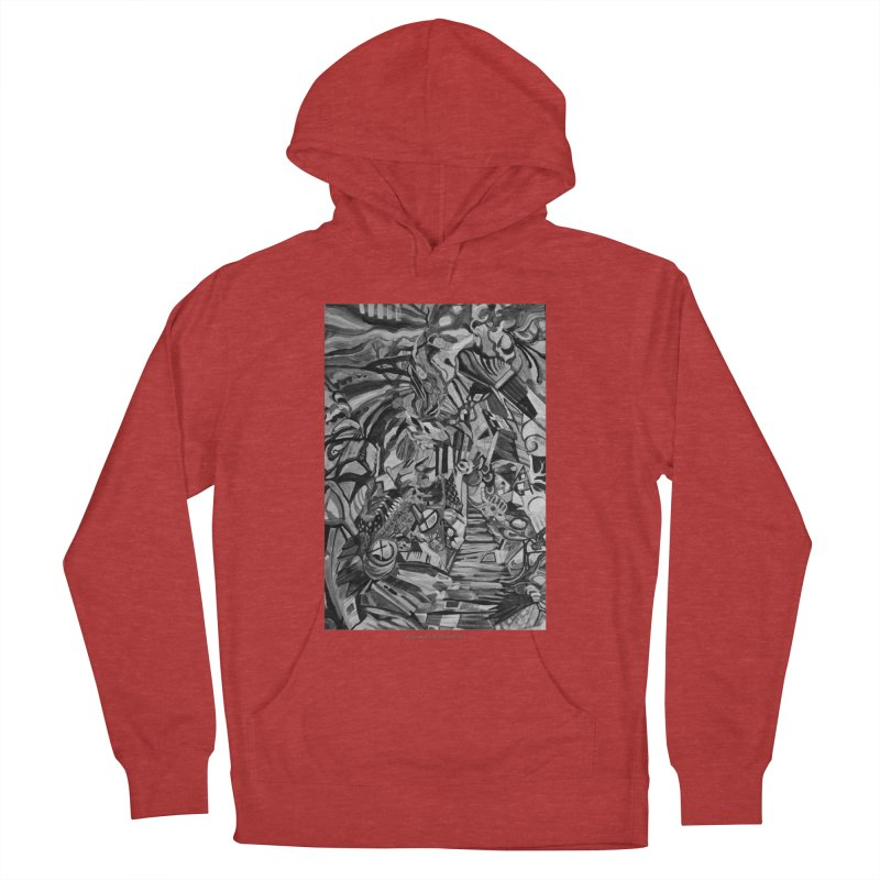 Claustrophobia (B&W) Men's Pullover Hoody by Every Drop's An Idea's Artist Shop