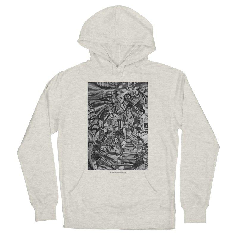Claustrophobia (B&W) Men's Pullover Hoody by Every Drop's An Idea's Artist Shop