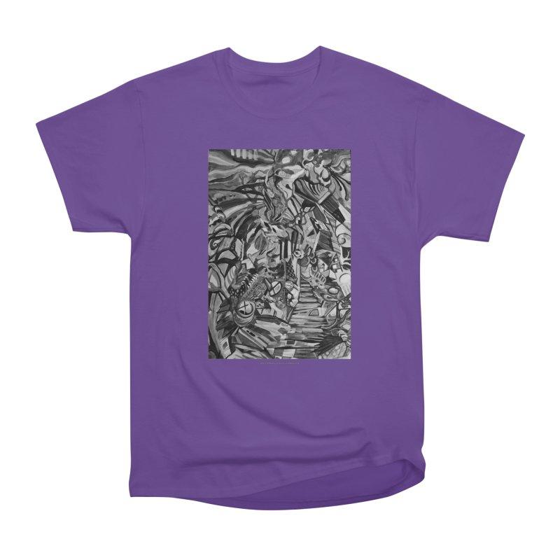 Claustrophobia (B&W) Men's Classic T-Shirt by Every Drop's An Idea's Artist Shop
