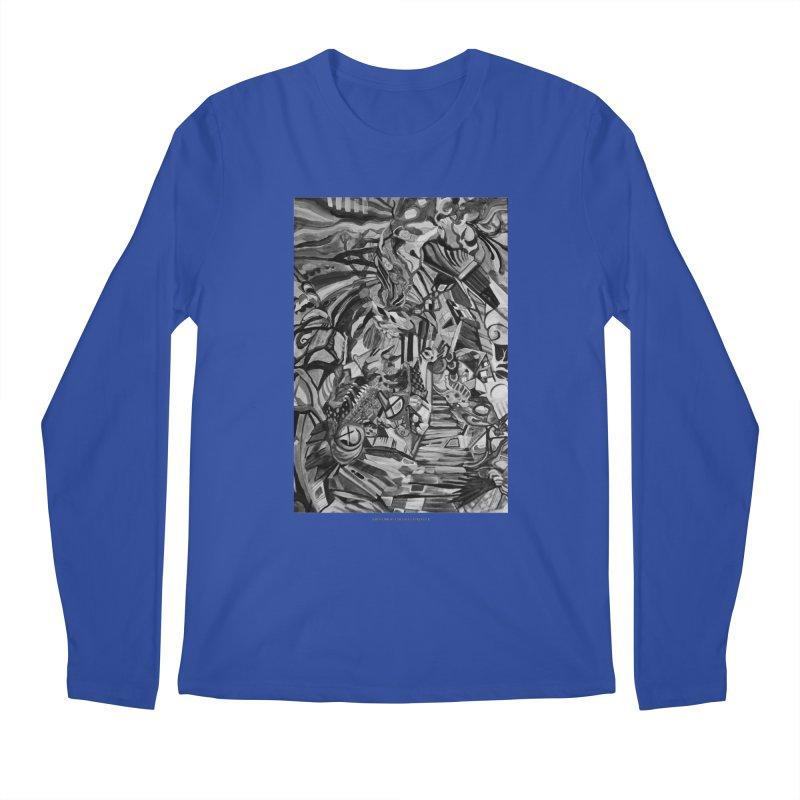Claustrophobia (B&W) Men's Longsleeve T-Shirt by Every Drop's An Idea's Artist Shop