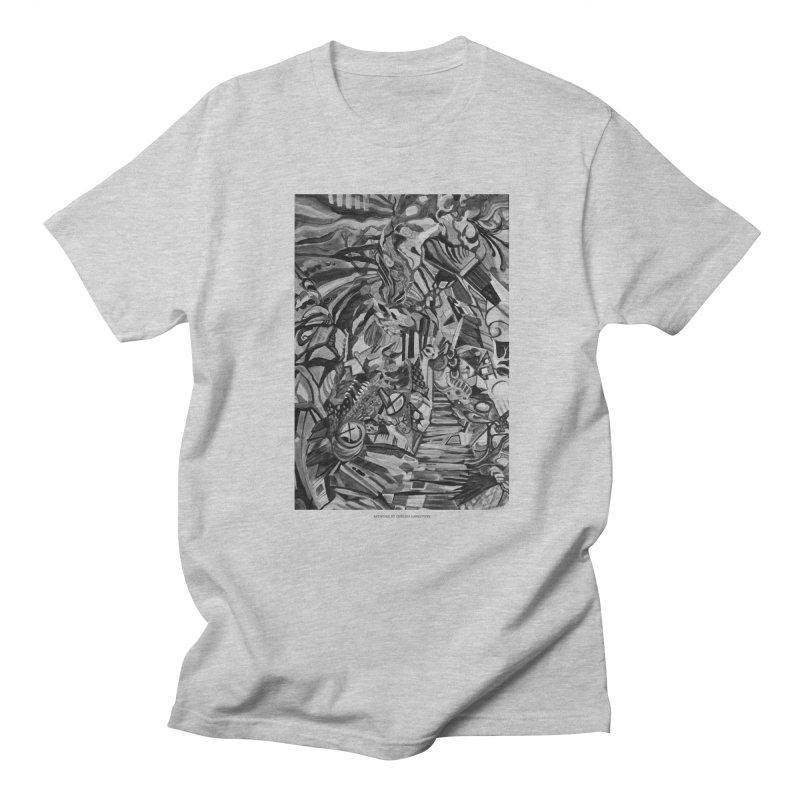 Claustrophobia (B&W) Men's T-shirt by Every Drop's An Idea's Artist Shop