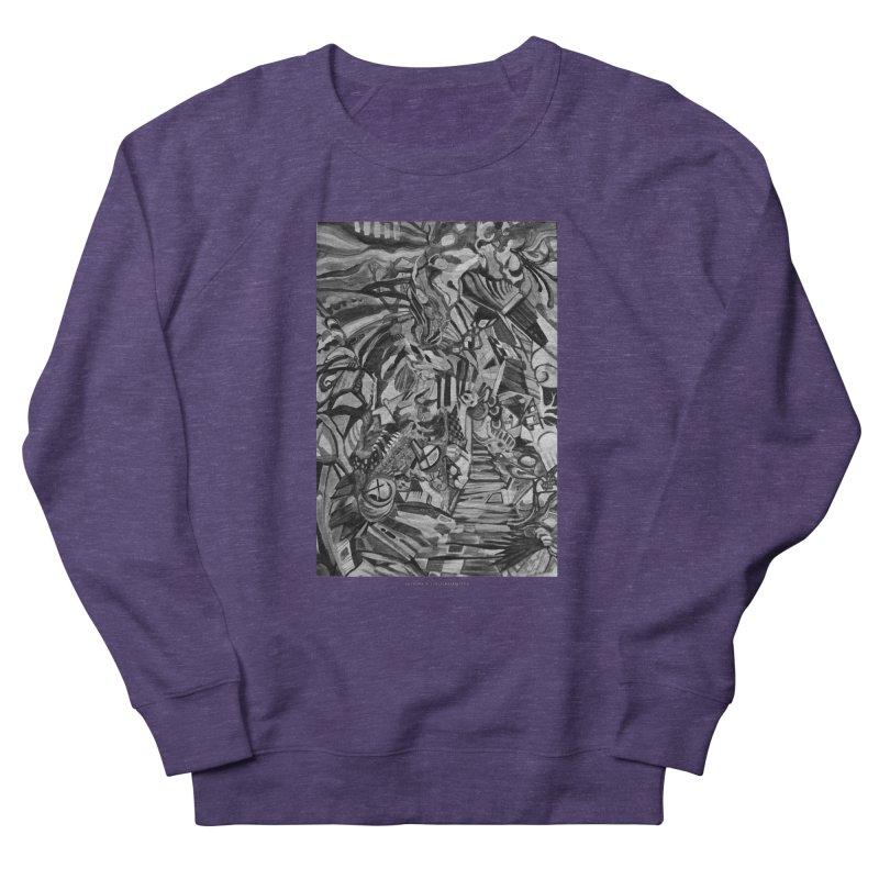 Claustrophobia (B&W) Women's Sweatshirt by Every Drop's An Idea's Artist Shop