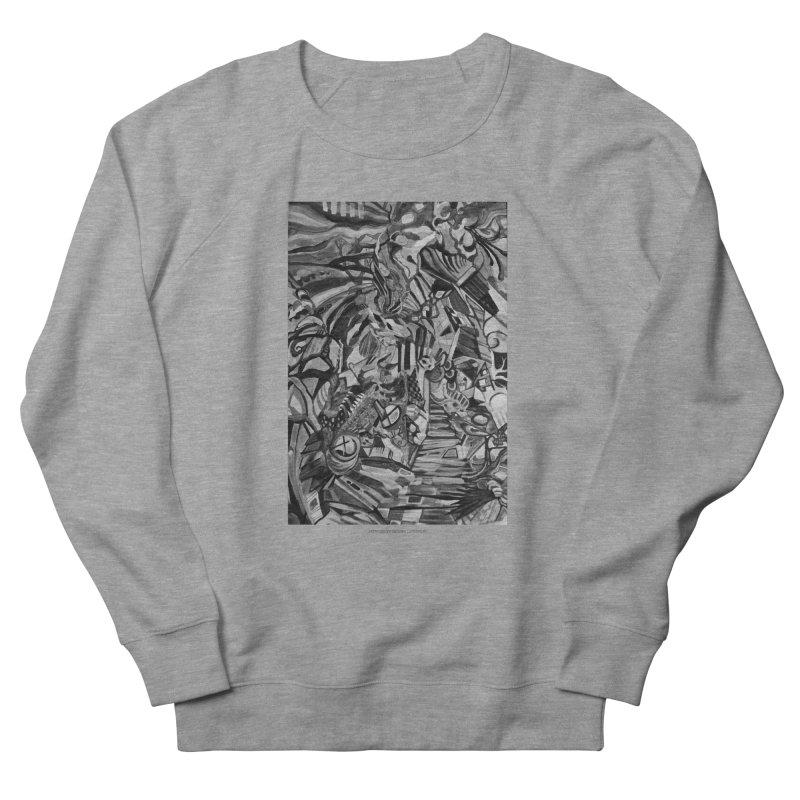 Claustrophobia (B&W) Men's Sweatshirt by Every Drop's An Idea's Artist Shop