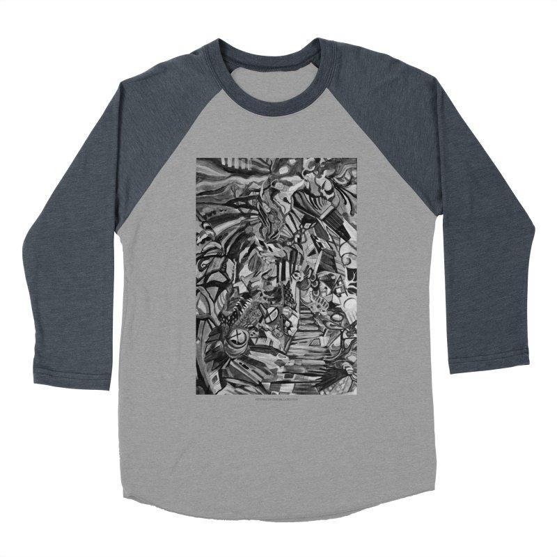 Claustrophobia (B&W) Women's Baseball Triblend T-Shirt by Every Drop's An Idea's Artist Shop