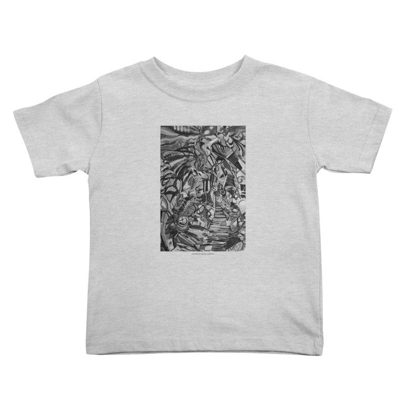 Claustrophobia (B&W) Kids Toddler T-Shirt by Every Drop's An Idea's Artist Shop