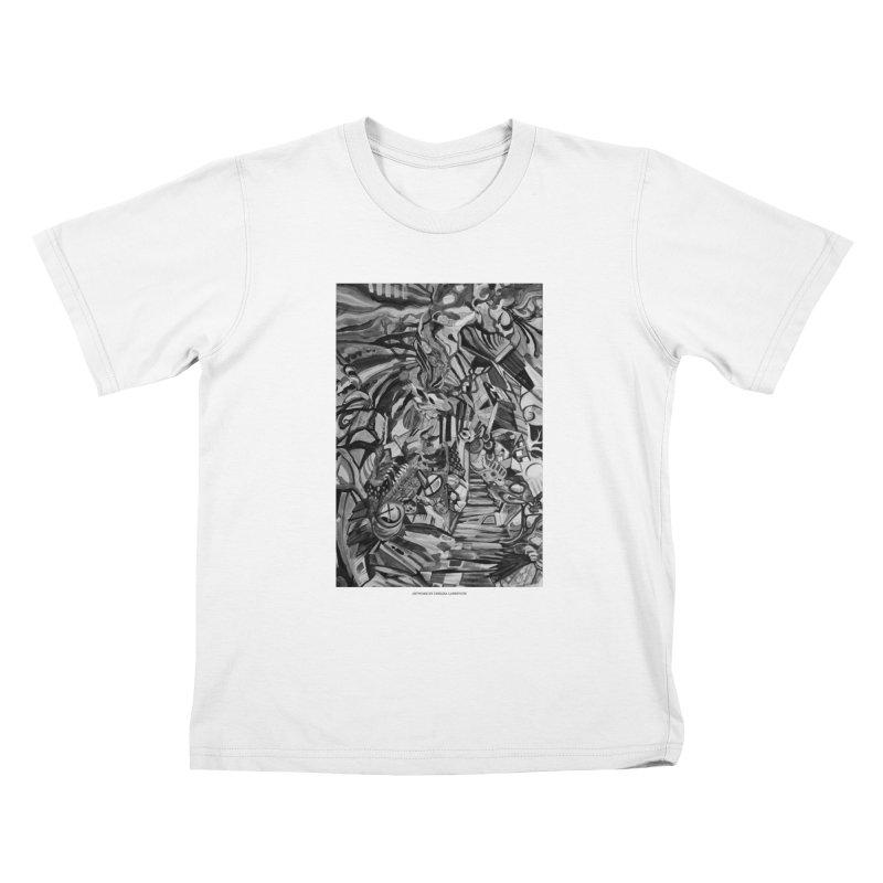 Claustrophobia (B&W) Kids T-shirt by Every Drop's An Idea's Artist Shop