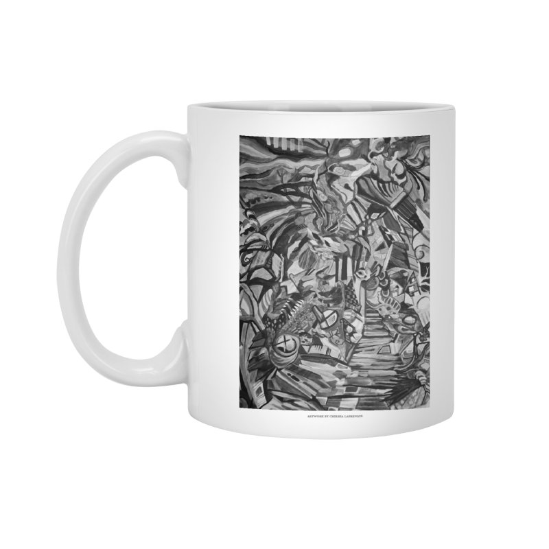 Claustrophobia (B&W) Accessories Mug by Every Drop's An Idea's Artist Shop