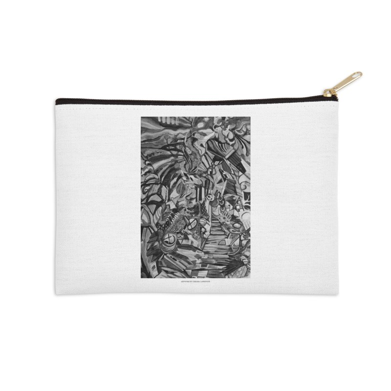 Claustrophobia (B&W) Accessories Zip Pouch by Every Drop's An Idea's Artist Shop