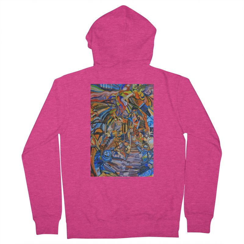 Claustrophobia (Color) Women's Zip-Up Hoody by Every Drop's An Idea's Artist Shop