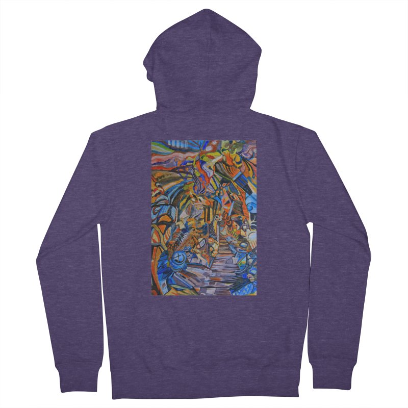 Claustrophobia (Color) Men's Zip-Up Hoody by Every Drop's An Idea's Artist Shop
