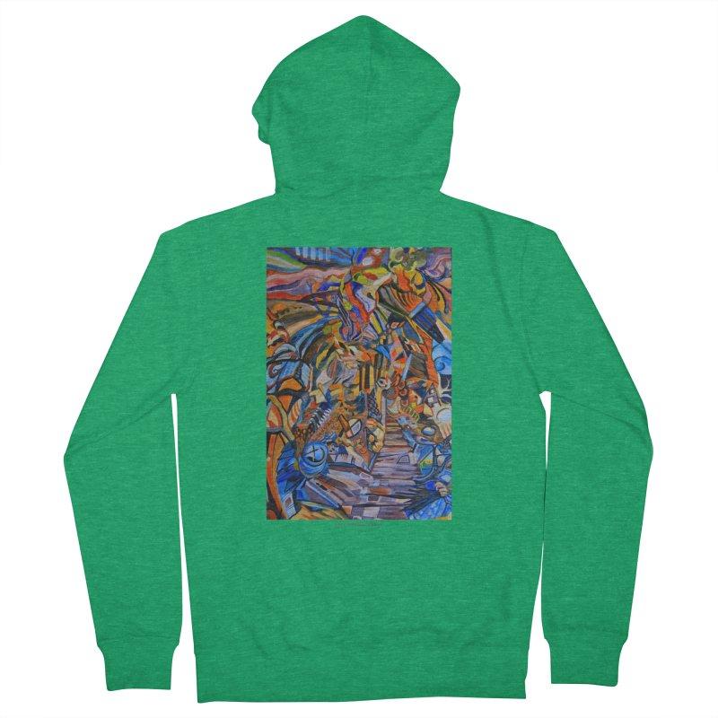 Claustrophobia (Color) Men's Zip-Up Hoody by Every Drop's An Idea's Artist Shop