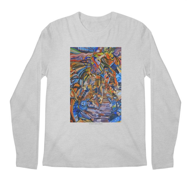 Claustrophobia (Color) Men's Longsleeve T-Shirt by Every Drop's An Idea's Artist Shop