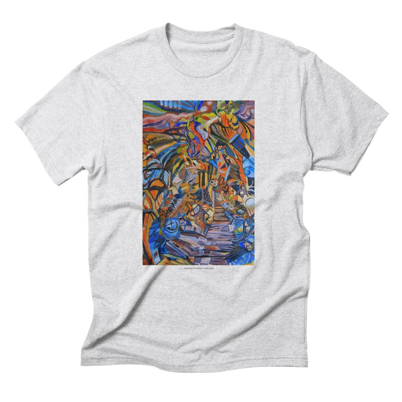 Claustrophobia (Color) Men's Triblend T-Shirt by Every Drop's An Idea's Artist Shop