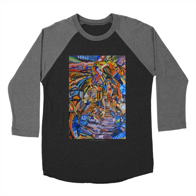 Claustrophobia (Color) Women's Baseball Triblend T-Shirt by Every Drop's An Idea's Artist Shop