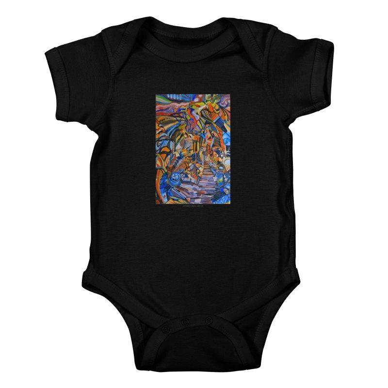 Claustrophobia (Color) Kids Baby Bodysuit by Every Drop's An Idea's Artist Shop