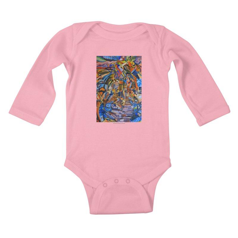 Claustrophobia (Color) Kids Baby Longsleeve Bodysuit by Every Drop's An Idea's Artist Shop