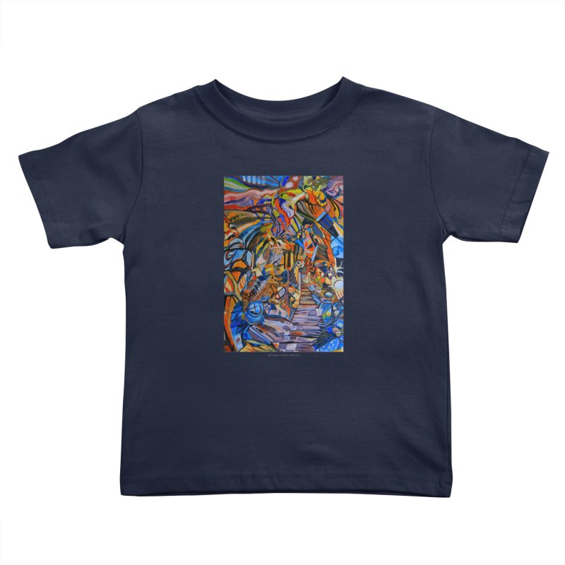 Claustrophobia (Color) Kids Toddler T-Shirt by Every Drop's An Idea's Artist Shop